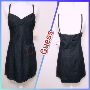 NWT - GUESS Denim Dress